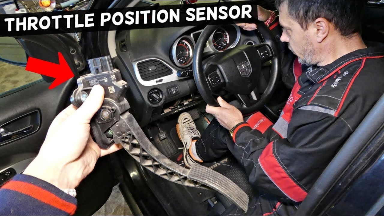 Dodge Journey Throttle Position Sensor Gas Pedal Accelerator