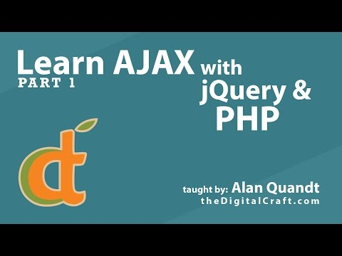 Learn AJAX with jQuery and PHP