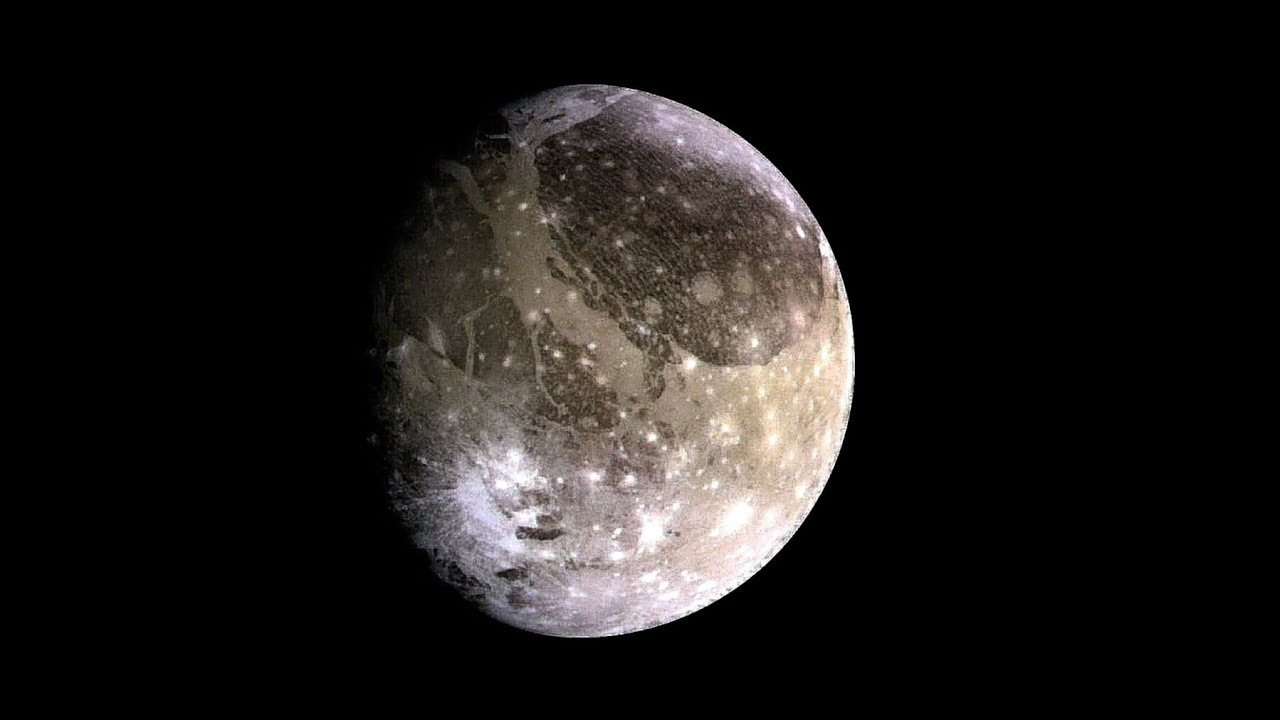 What Would Standing on Largest Moon Found Ganymede Feel ...