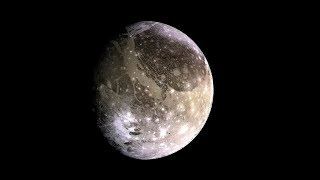 What Would Standing on Largest Moon Found Ganymede Feel Like?