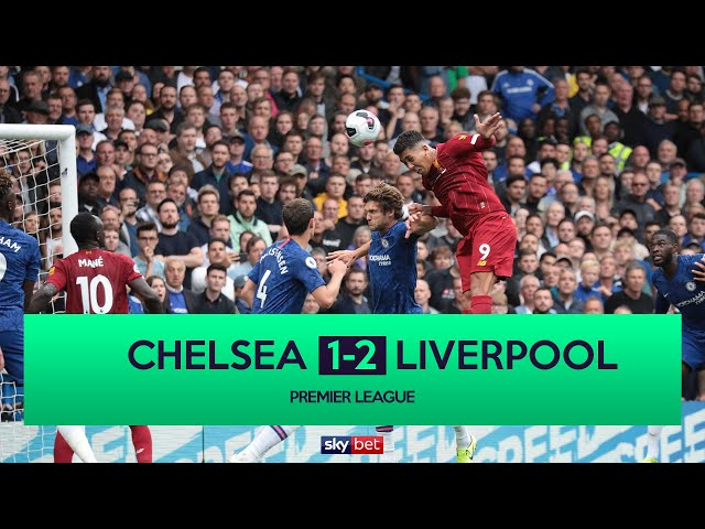 Live: Chelsea 0-2 Liverpool | Firmino Doubles Lead for Klopp's Men