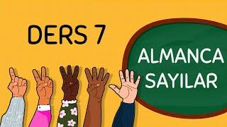 A1  Ders 7 - Almanca Sayılar (Die Zahlen)