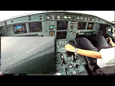 FIRST OFFICER IN ACTION! (APPROACH SBEG)