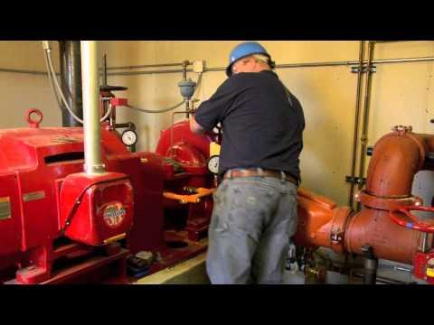 Fire pump test report software