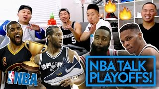 PLAYOFF PREDICTIONS 2017 (WESTBROOK IS NOT THE MVP?!) - NBA TALK