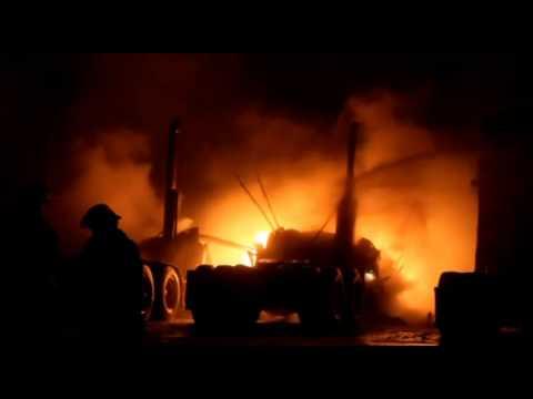 Fire on Annacis Island