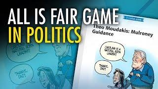 "David Menzies: Fake outrage over ""sexist"" Caroline Mulroney cartoon thumbnail"