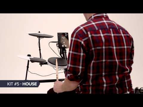 TD-1K and TD-1KV V-Drums: Drum Kit Examples