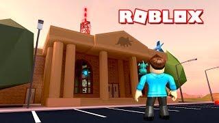 ROBBING THE MUSEUM! | Roblox Jailbreak! | MicroGuardian