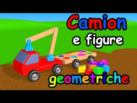Camion e figure geometriche - AlexKidsTV