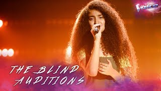 Blind Audition: Lara Dabbagh sings Rise Up | The Voice Australia 2018