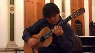 Peter Maxwell Davies - Sonata - I. Andante/Allegro Moderato - Fabio Adour, guitar - AV-RIO Meeting
