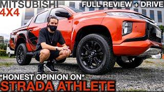 2020 Mitsubishi Strada Athlete 4x4 Review (Full Walk Around Interior Exterior & Test...)
