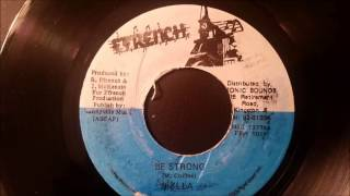 "Sizzla - Be Strong - Ffrench 7"" w/ Version (Sea Of Love Riddim)"