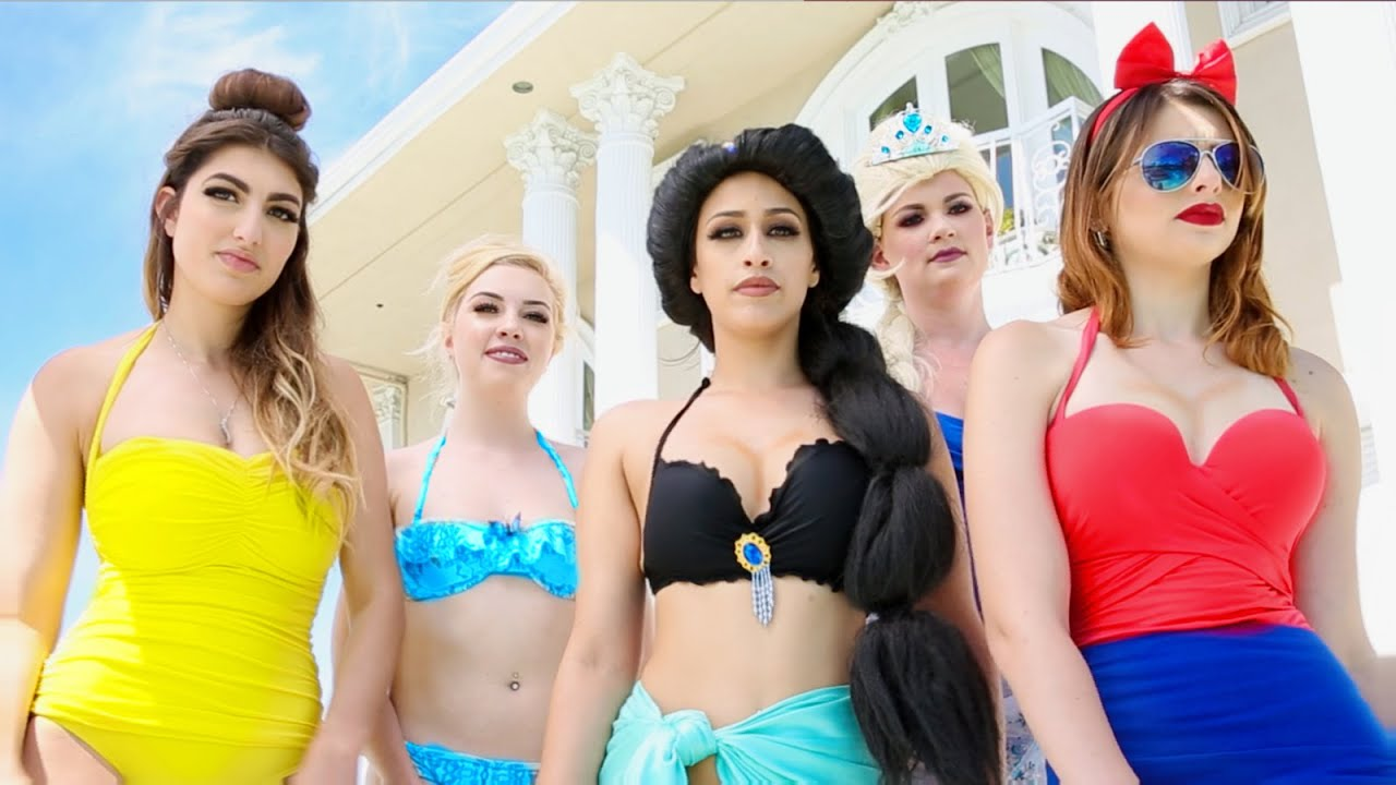 Disney Princess Pool Party