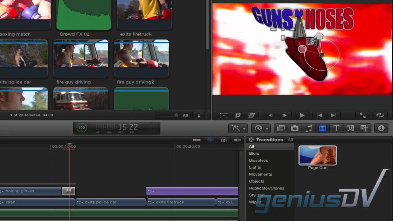 Final Cut Pro X Sound Effects - GeniusDV Training