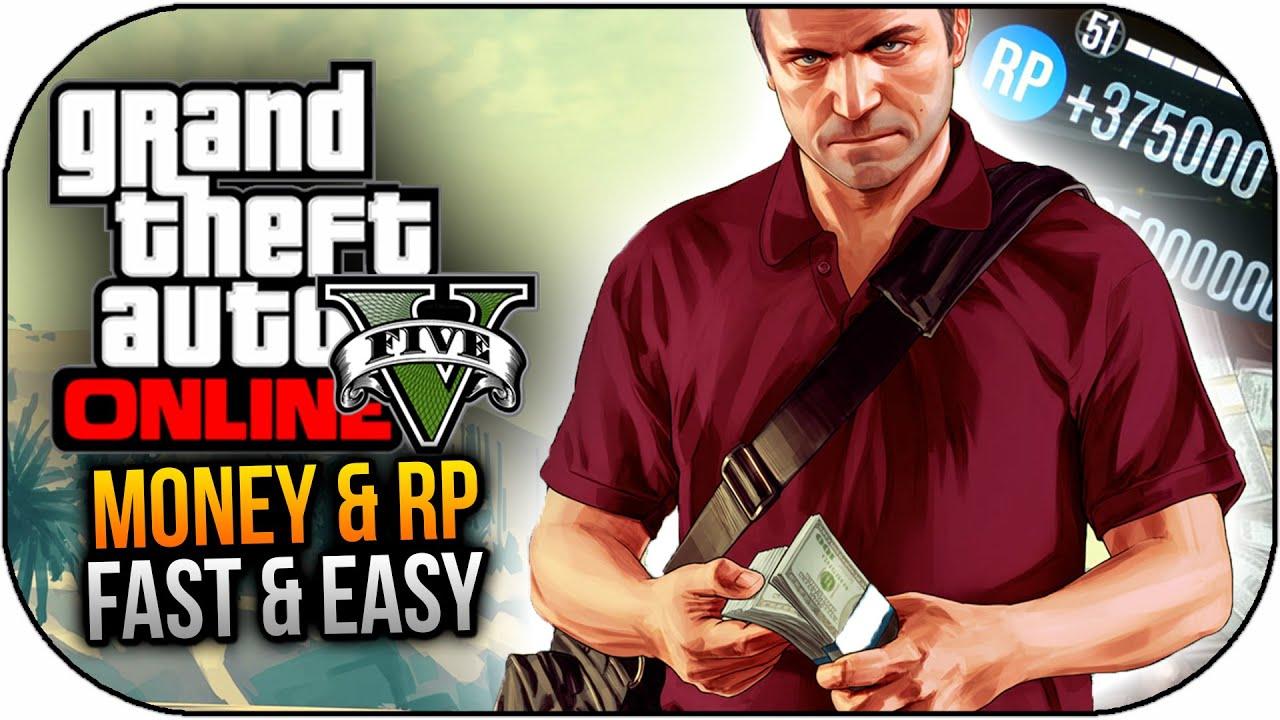 GTA 5 Online - How To Make Money Fast & RP - Easy Money & RP in GTA 5 Online ! - YouTube