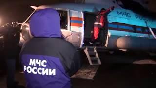 Вертолёт МИ-8 МТВ-1 МЧС России доставил в Казань девочку, пострадавшую в ДТП в Республике Марий Эл thumbnail
