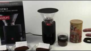 Bodum Bistro Coffee Grinder Review