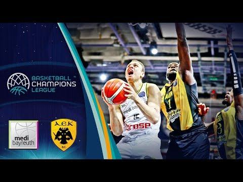 medi Bayreuth v AEK - Full Game - Basketball Champions League