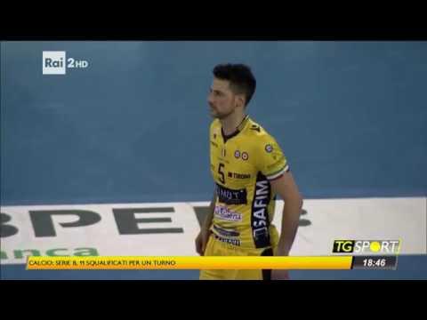 Santiago Orduna protagonista sul tg sport di Rai 2