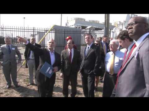 Mayor Ganim Eco Technology Park Tour with Senator Chris Murphy