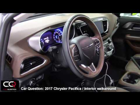 2017 Chrysler Pacifica Limited Interior | THE Most Complete review Part 2/7