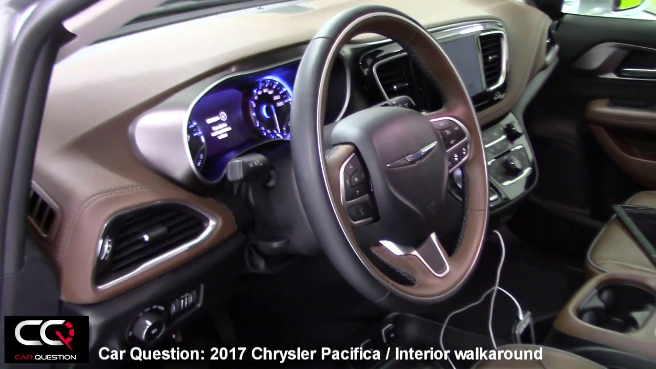 2017 Chrysler Pacifica Limited Interior The Most Complete Review Part 2 7 You