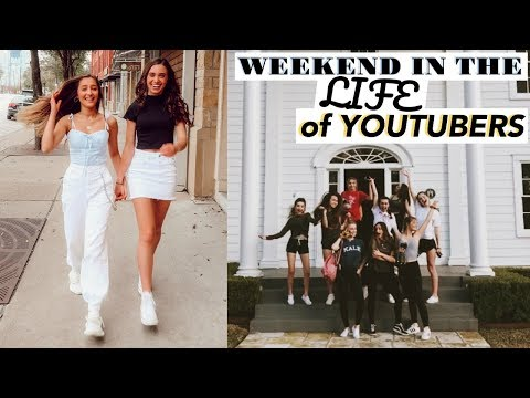 WEEKEND IN THE LIFE OF YOUTUBERS