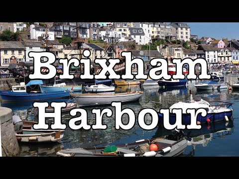 Brixham, Devon England UK - Beautiful Views Over The Harbour
