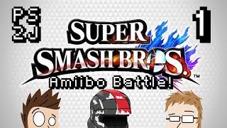 SSB4 - Amiibo Battle 1