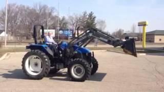 Orbitbid.com - Michigan:grandville Tractor -new Holland Ts110 Tractor - 5/13/14