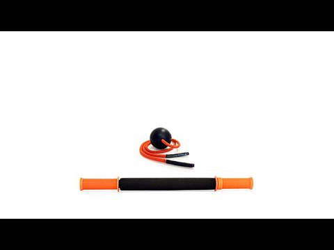 Tiger Tail Foam Roller And Massage Ball Bundle