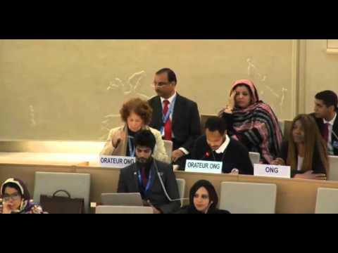 31st Session of the Human Rights Council - Item 2 - Mr Boris Blasberg