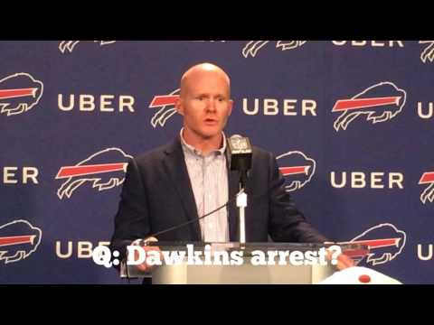 NFL Draft Day 2 - Buffalo Bills Sean McDermott (Dion Dawkins) 4/28/17