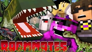 "Minecraft ROOMMATES! - ""DINOSAUR DEVASTATION"" #9 (Minecraft Roleplay)"