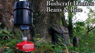Bushcraft Dinner - Beans & Rice