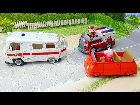 Мультики с игрушками - Неожиданные приключения. Игрушечные мультфильмы про машинки смотреть онлайн.