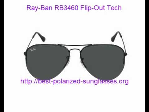 rb3460  Ray-Ban RB3460 FlipOut Tech Interchnageable Lenes - YouTube