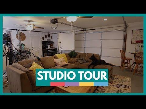 New Office / Studio Tour at Video School Online