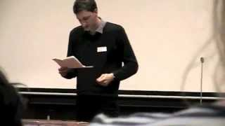 Demi-finale du concours de plaidoirie, faculté de droit de Cergy 2012