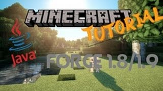Minecraft Forge (Modloader) Installieren | 1.8/1.9 | Client für alle Minecraft Mods! | [Deutsch/HD