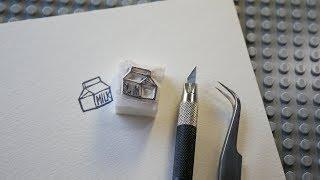 지우개 도장 만들기 강좌 - Rubber stamp