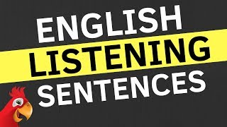 English Conversation Practice ||| Easy English Sentences For Listening