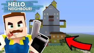 HELLO NEIGHBOR SUR MINECRAFT ! MON VOISIN LE TUEUR ! TROLL | PS4 FR Minecraft Console Episode 1