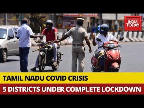 covid-19-crisis:-complete-lockdown-in-5-districts-of-tamil-nadu;-essential-services-to-function