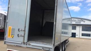 Used 2009 Kraker Lightweight Moving Floor Trailer For Sale