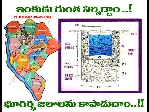 Magic Soak pit Construction || Inkudu Gunta || Telugu || TELANGANA