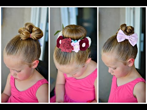 Ballet Bun Hairstyles for Little Girls