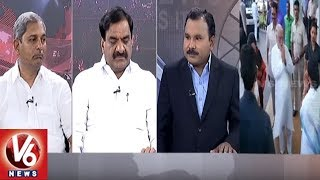 Special Debate On CM KCR-Mamata Banerjee Meet | Federal Front | 7PM Discussion | V6 News